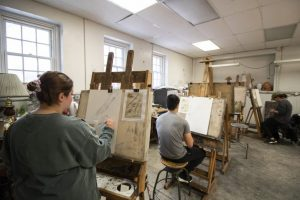Drawing class for PCOM students