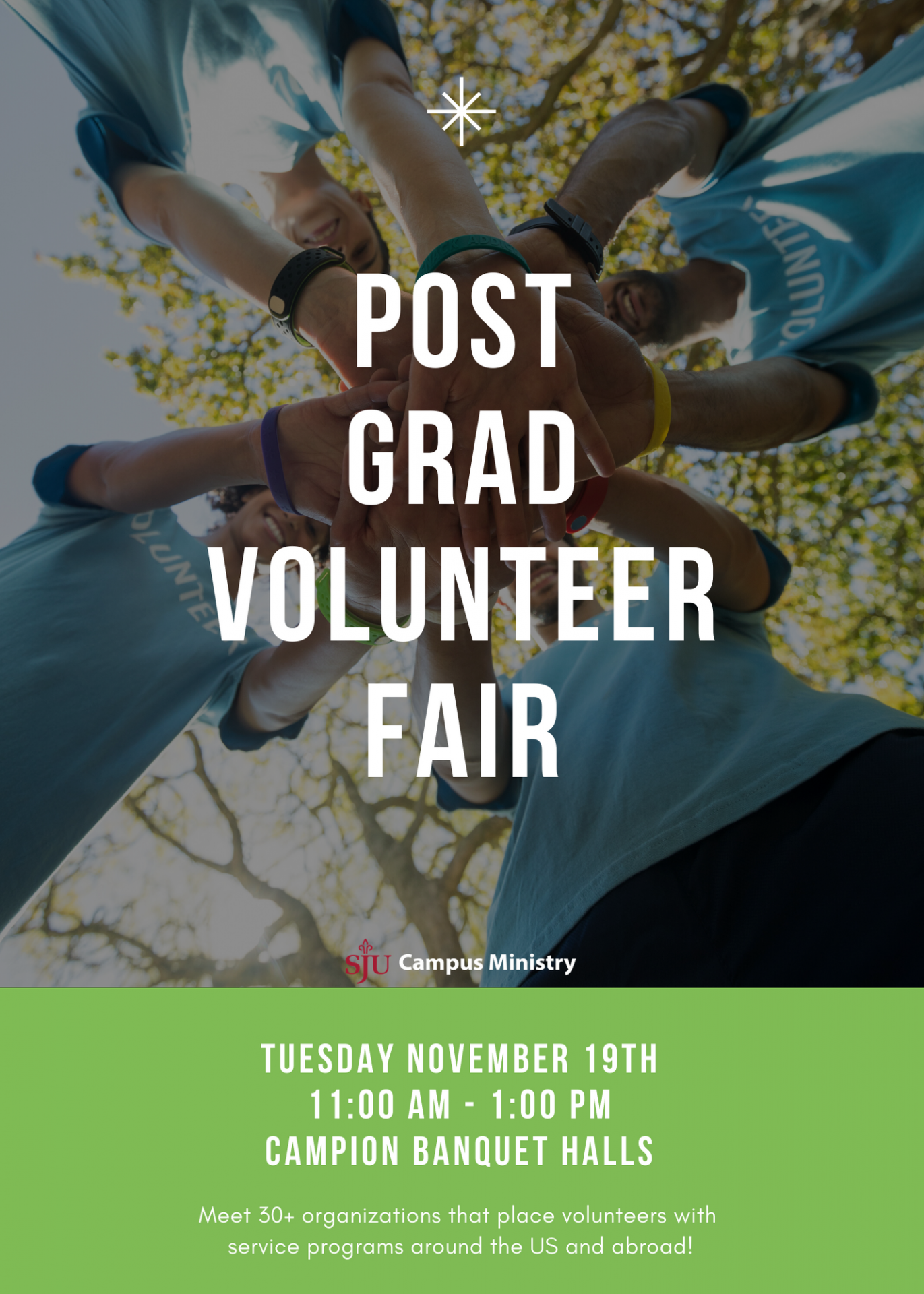 2019 post grad fair flyer