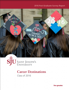 Career Outcomes Report 2016 Cover