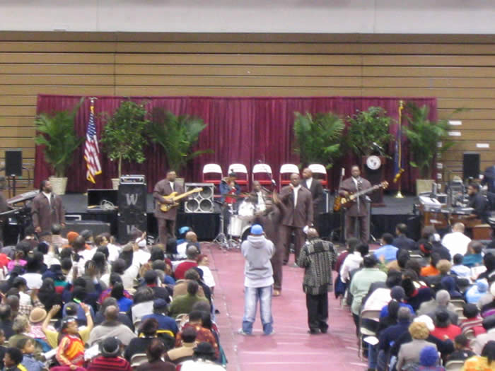 Martin Luther King Event in  the Hagen Arena