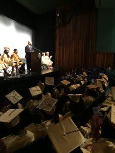Beeber Middle School 8th grade graduation 2017