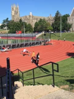 Exercise on the SJU Track