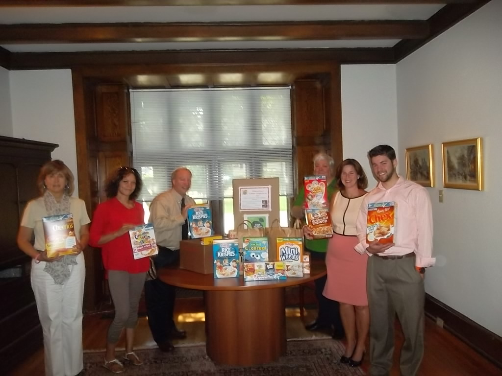 University Advancement Summer Cereal Drive for Philabundance