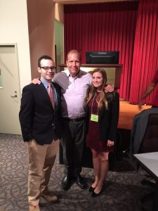 State Senator Daylin Leach & SJU students assisting at Forum