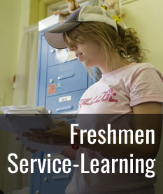 Freshmen Service-Learning Information