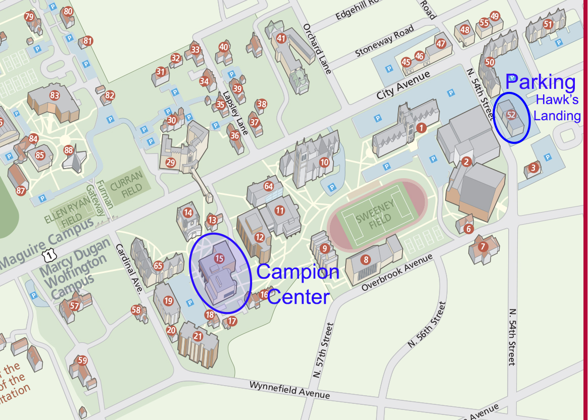furman university campus map St Joseph University Campus Map Map Of The World furman university campus map