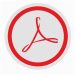 round-adobe-acrobat-red-label-sign-512