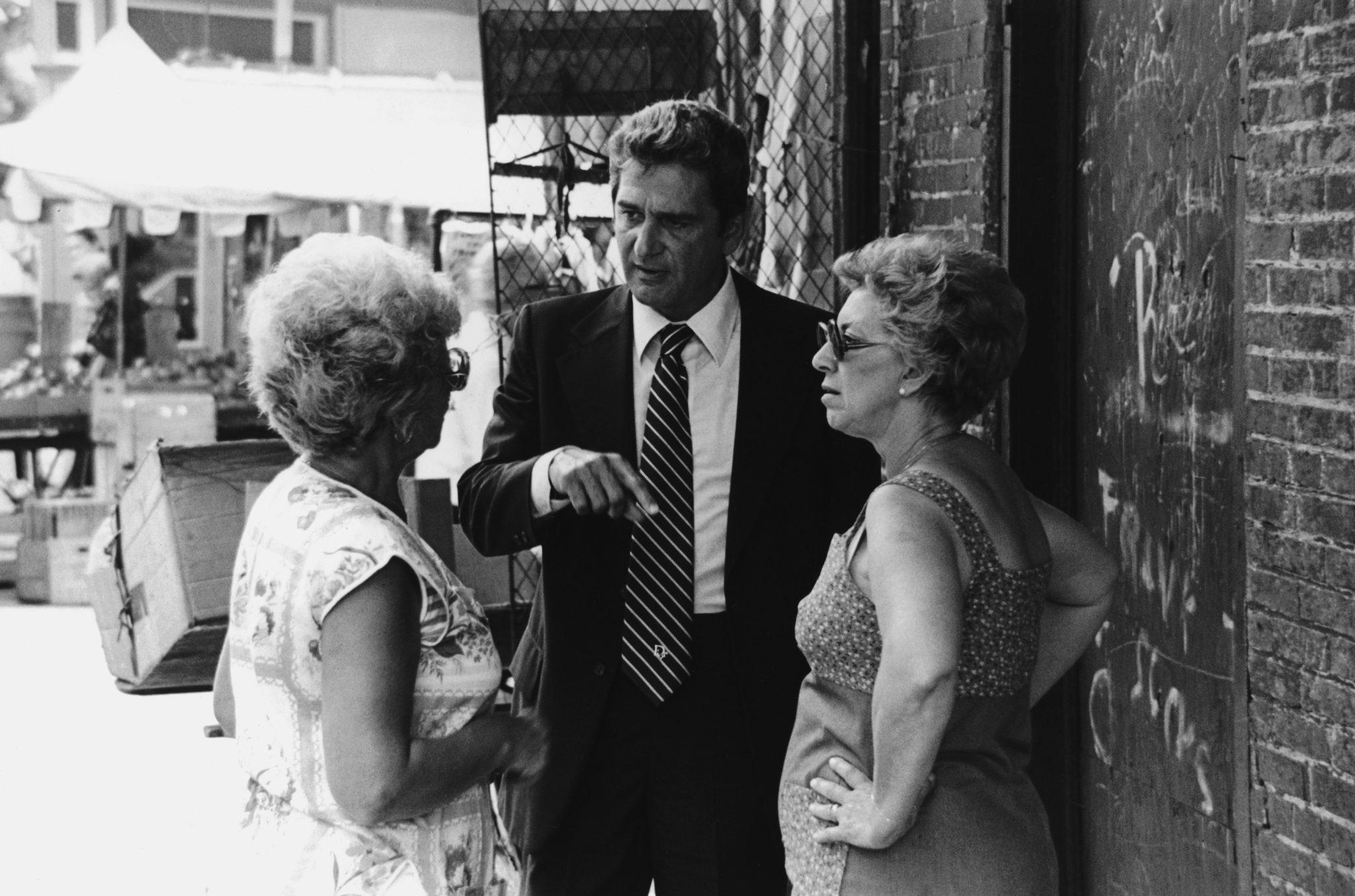 Foglietta campaigning 1980s
