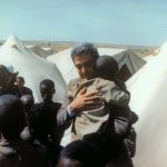 Goodwill ambassador Foglietta in Ethiopia 1985