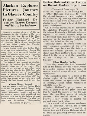 Article from The Hawk student newspaper, November 15, 1935