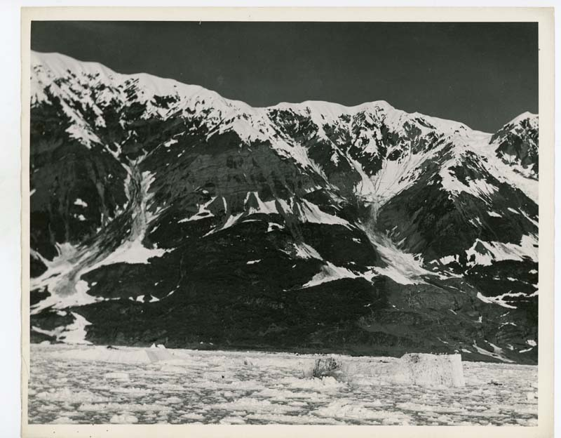 Glaciers, southeast Alaska, ca. 1932
