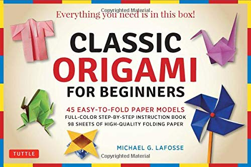 Classic Origami for Beginners Kit Ebook : 45 Easy-to-Fold Paper Models: Full-color Step-by-step Instructional Ebook