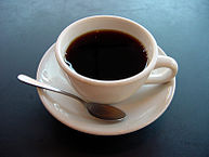"""A small cup of coffee"" by Julius Schorzman - own work. Licensed under Creative Commons"