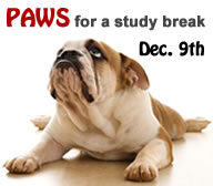 Paws for a study break!
