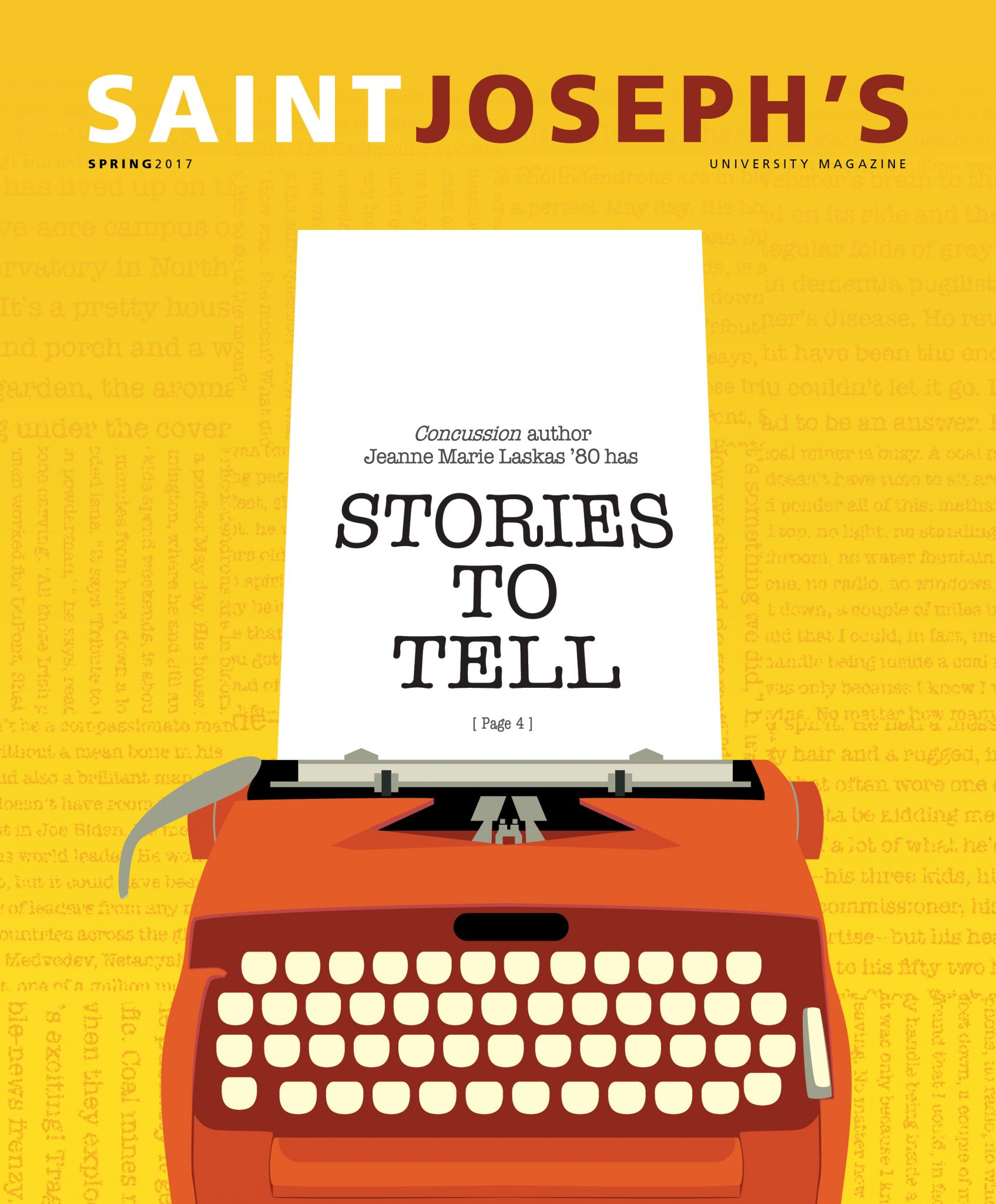 Spring 2017 Saint Joseph's University Magazine Cover