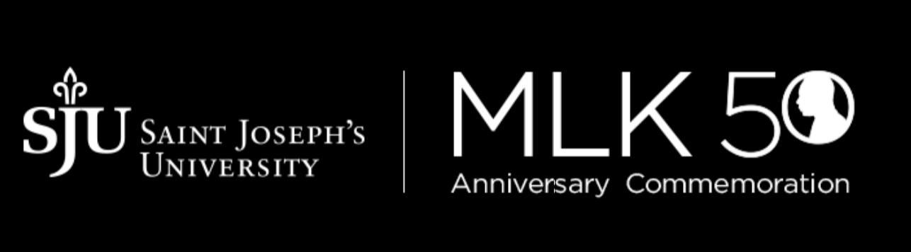 SJU MLK 50 logo