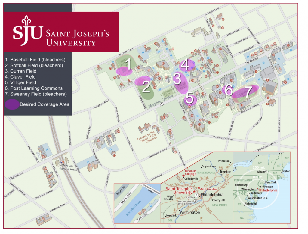SJU Outdoor Wireless Coverage