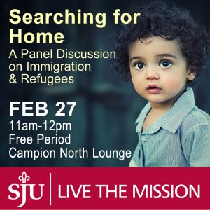 searching for home: a panel discussion on immigration and refugees