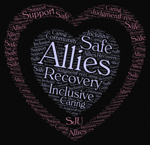 image of allies of recovery training logo