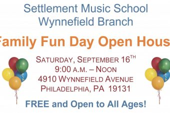 Settlement Music School Wynnefield Branch  Family Fun Day Open House